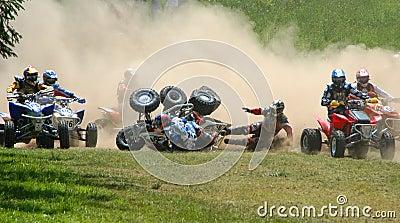 Race ATV Motocross