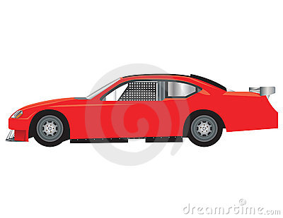 Race Car Royalty Free Stock Images - Image: 13576009