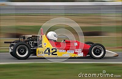 Race Car Editorial Photo