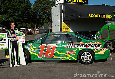 Race car driver, kyle busch s car Editorial Photography