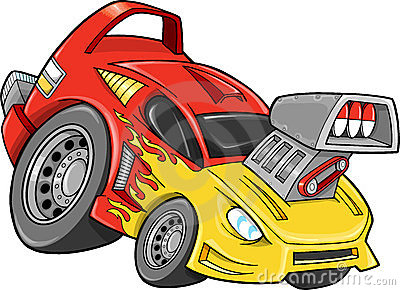 Race Car Street Car Vehicle Vector