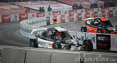 Race of Champions 2009 - Final Editorial Stock Image