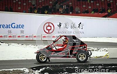 Race of Champions Beijing 2009 Editorial Image