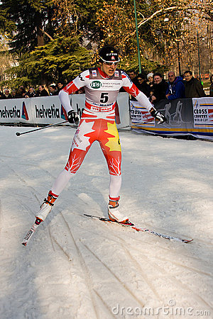Race in the city, FIS Cross-Country World Cup Editorial Photo