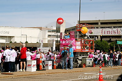 Race for the Cure 2010 Susan G. Komen Editorial Photo