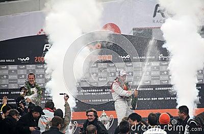 Race för 2009 mästare Redaktionell Bild
