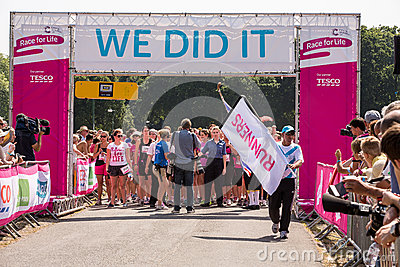 Race for Life Editorial Stock Image
