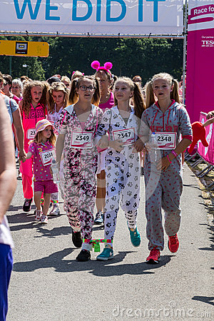 Race for Life Editorial Photography