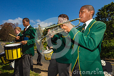 Race Music Band  Editorial Image