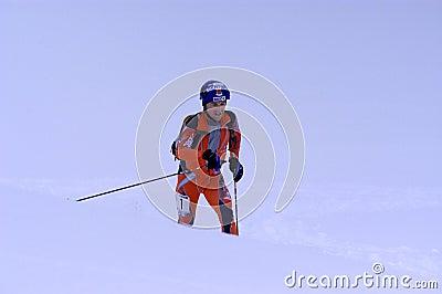 Race of ski touring Editorial Photo