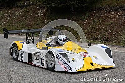 Raceauto Redactionele Afbeelding