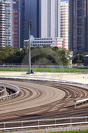 Racecourse Racing Track
