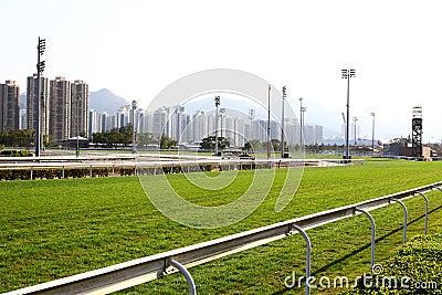 Racecourse Racing Track