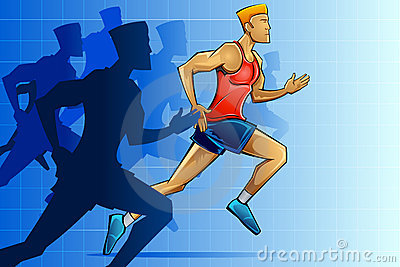 Racer in Marathon