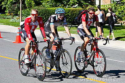 Racers that abandonned the race Editorial Stock Photo