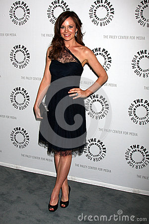 Rachel Boston arrives at the celebration of the final season of USA Network s  In Plain Sight  Editorial Image