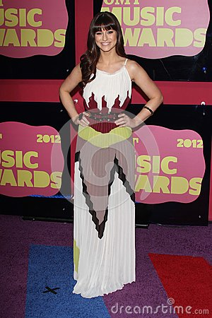 Rachel Reinert at the 2012 CMT Music Awards, Bridgestone Arena, Nashville, TN 06-06-12 Editorial Image