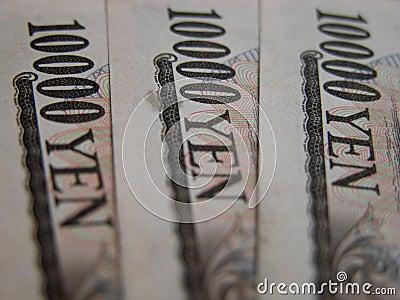 Rachunki 10000 jenów