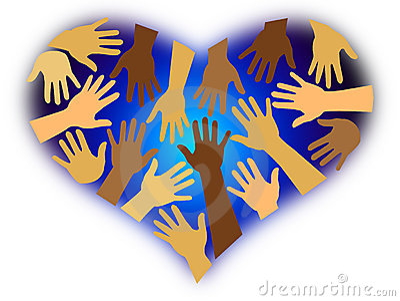 Racial Diversity Heart