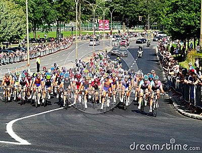 racing Editorial Stock Image