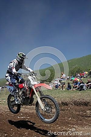 Racing Editorial Photo