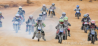 Racing bikes Editorial Stock Photo