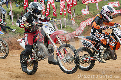 Racing bikes Editorial Stock Image