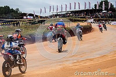 Racing bikes Editorial Stock Photo