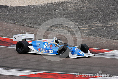 Racing car Editorial Stock Photo