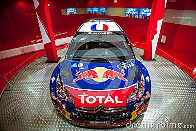 Racing car Sebastien Loeb Editorial Stock Photo