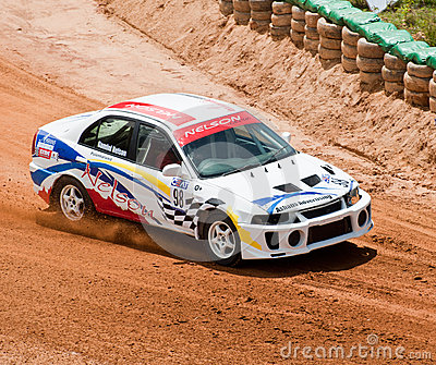 Racing car in srilanka Editorial Stock Photo