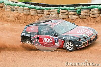 Racing car in srilanka Editorial Stock Photo