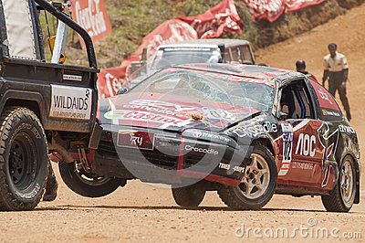 Racing car in srilanka Editorial Image
