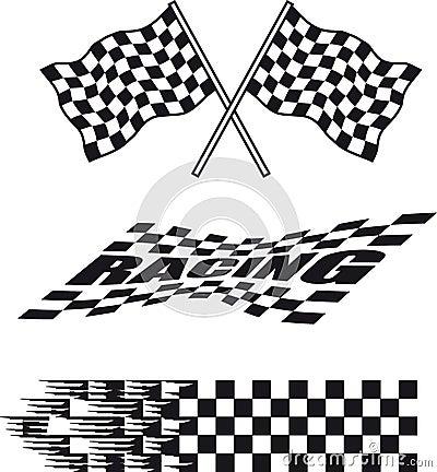 Free Racing Flag Stock Photography - 5020882