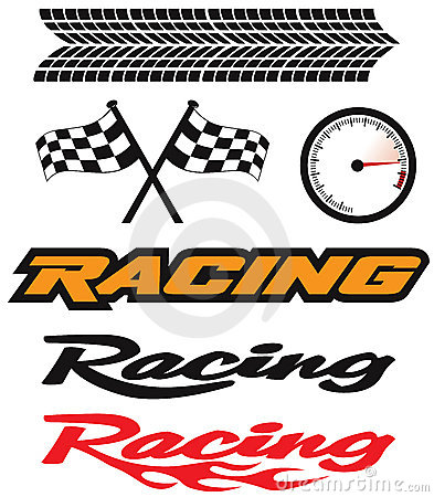 Free Racing Icons Stock Images - 19240224