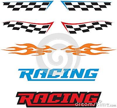 Free Racing Icons Royalty Free Stock Image - 19314156