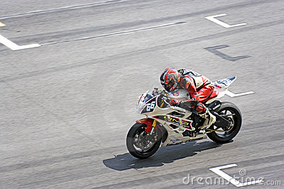 Racing motorbike Editorial Stock Image