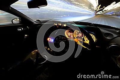 Racing sports car