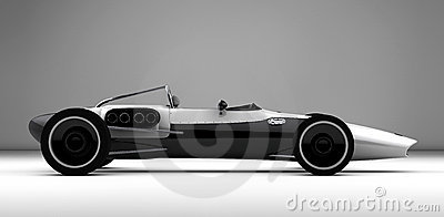 Racing sports car concept