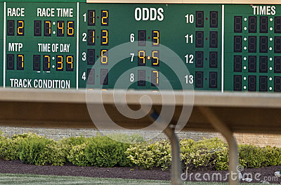 Racing Time--East Coast Horse Track