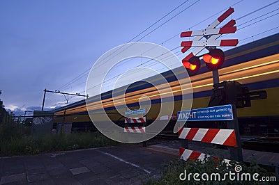 Racing train