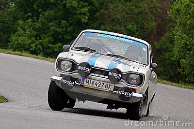Racing vintage car    Ford Editorial Stock Photo