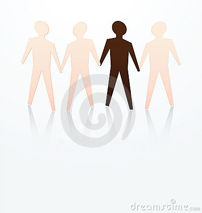 Racism concept