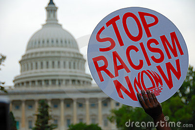 Racism Protest at Capitol