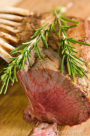 Free Rack Of Lamb Royalty Free Stock Photos - 4368148