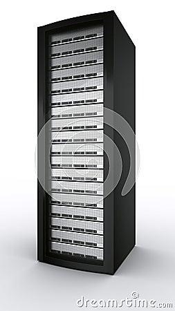 Free Rack Server Royalty Free Stock Photo - 5122125