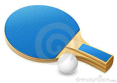 Racket for playing table tennis game