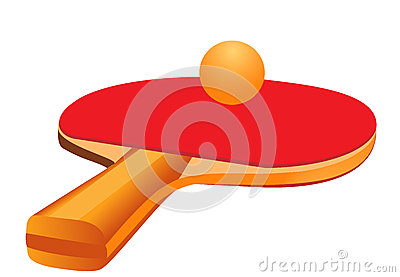 Racket for table tennis