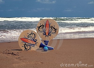 RACKETS OF BEACH