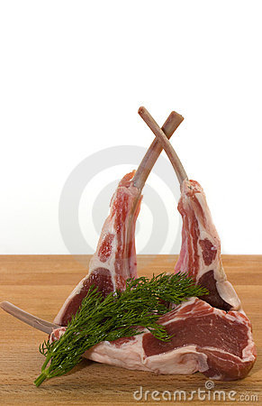 Racks of lamb